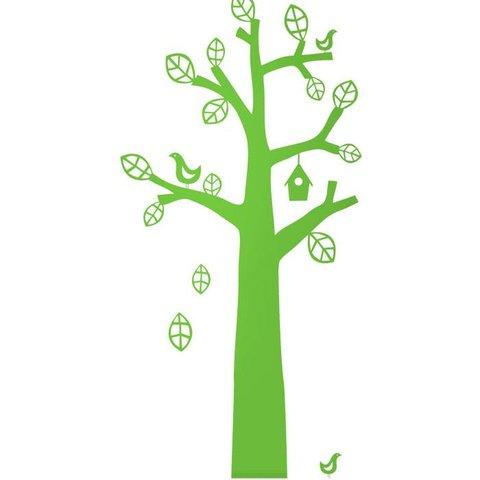 Ferm Living muursticker boom groen
