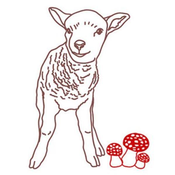 Mimi'lou Mimilou muursticker lam