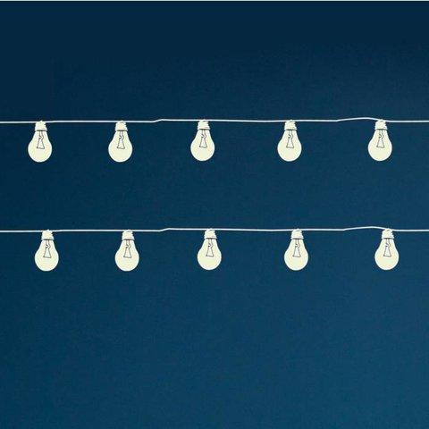 Mimilou fluorescerende muursticker lampjesslinger