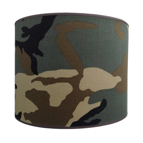 Juul Design kinderlamp army groen
