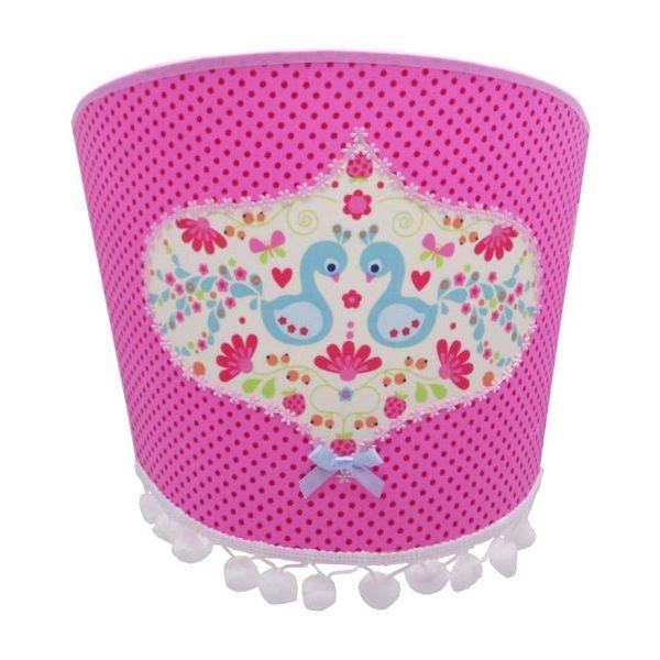 Juul Design Juul Design wandlamp vogels pauw roze