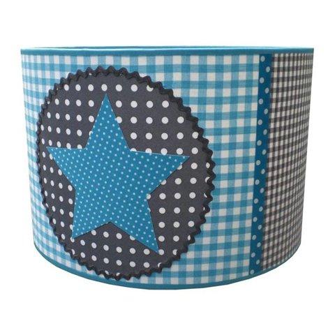 Juul Design kinderlamp star lichtblauw