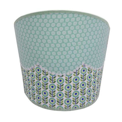 Juul Design wandlamp bloemen floral mint