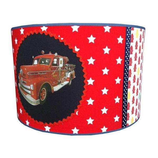 Juul Design Juul Design kinderlamp brandweerauto Fire dpt.