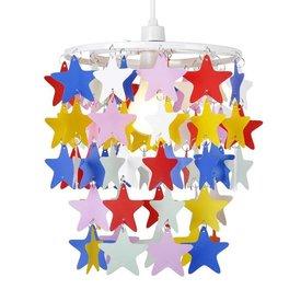 Kinderlamp sterren multikleur