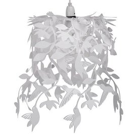 Kinderlamp vogels wit
