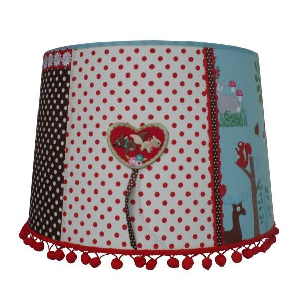 Juul Design Juul Design kinderlamp bos patchwork forest