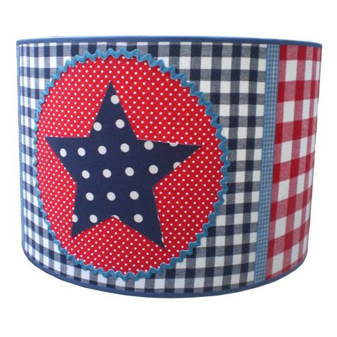 Juul Design kinderlamp star donkerblauw