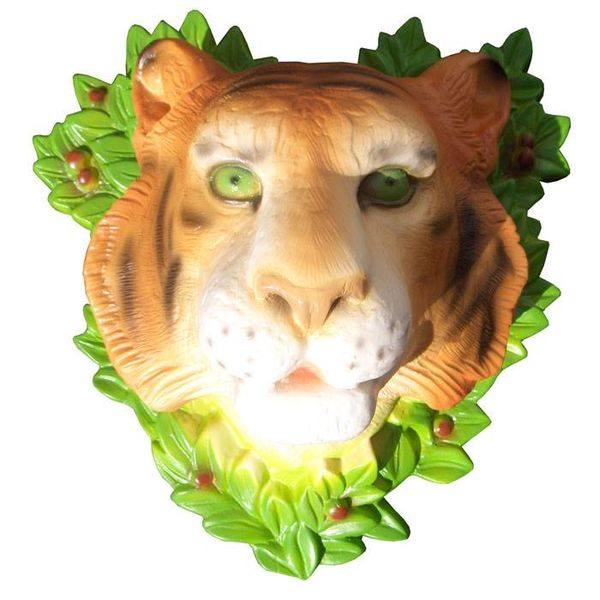 Heico figuurlampen Wandlamp tijgerkop
