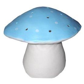 Heico figuurlampen Figuurlamp vliegenzwam lichtblauw