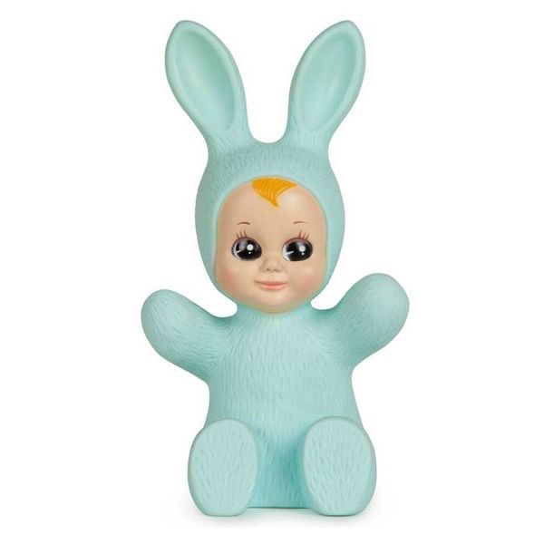 Goodnight Light Kinderlamp konijn baby bunny mint