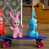Figuurlamp konijn baby bunny roze