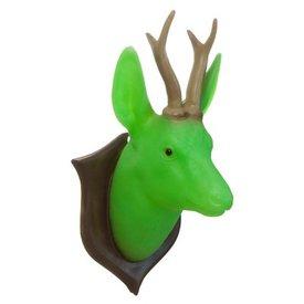Heico figuurlampen Wandlamp hert groen