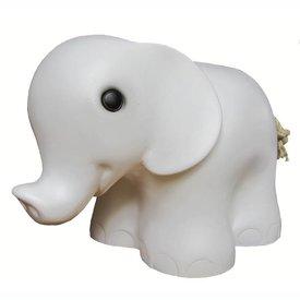 Heico figuurlampen Figuurlamp olifant wit