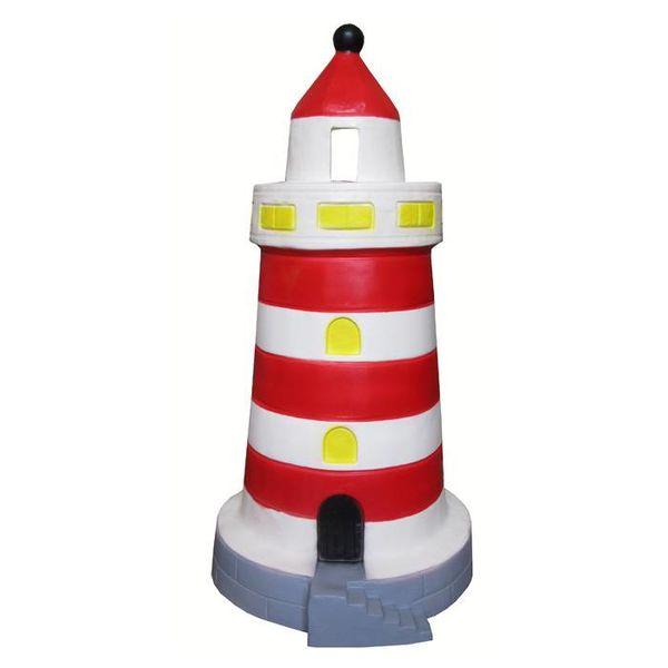 Heico figuurlampen Figuurlamp vuurtoren rood groot