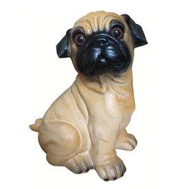 Heico figuurlampen Figuurlamp hond bulldogje Mops