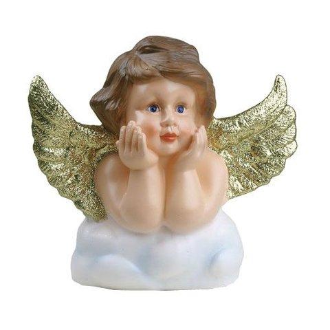 Figuurlamp engel goudglitters