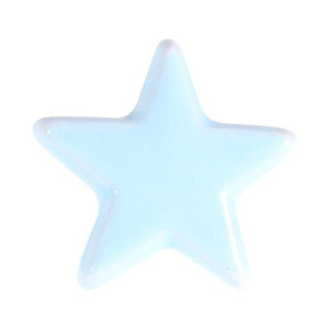 La Finesse kastknopje ster lichtblauw