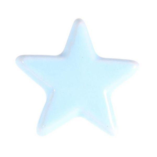 La Finesse La Finesse kastknopje ster lichtblauw