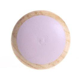 La Finesse La Finesse deurknopje hout roze