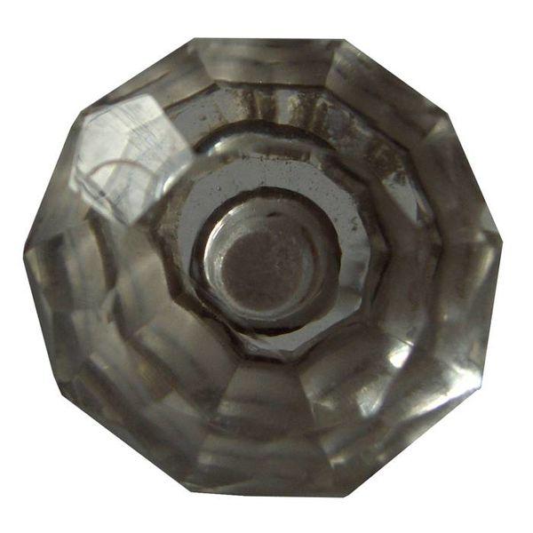 Harvey's Home Deurknop glas diamant
