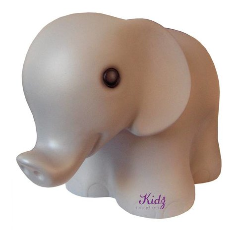 Figuurlamp olifant grijs