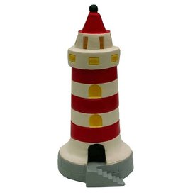 Heico figuurlampen Figuurlamp vuurtoren rood