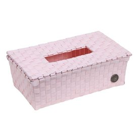 Handed By Handed By tissue box Luzzi powder pink