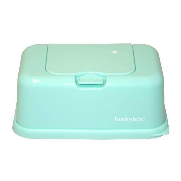 funkybox Funkybox billendoekjes bewaardoos mint
