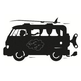 KEK Amsterdam Kek Amsterdam muursticker krijtbord auto surf van
