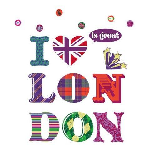 Nouvelles Images muursticker I love London