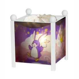Trousselier Trousselier magische lamp vrolijke beestjes wit