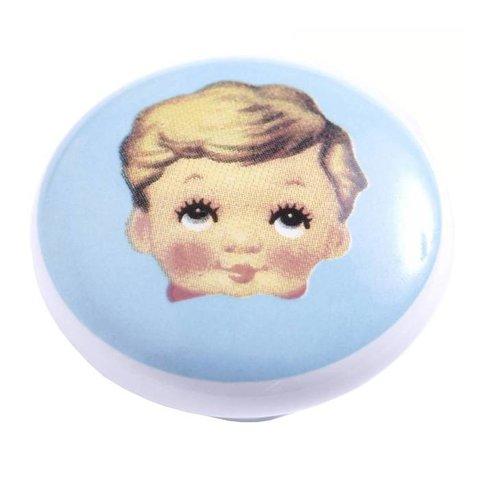Kastknopje kinderkamer jongen