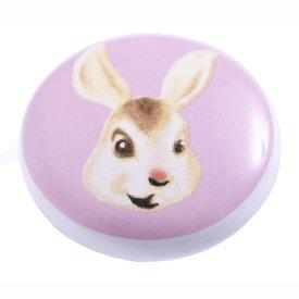 Living Colour Kastknopje kinderkamer konijn roze