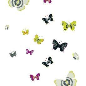 Nouvelles Images Nouvelles Images muurstickers vlinders