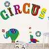 Nouvelles Images muurstickers circus