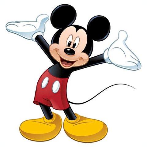 Roommates muursticker Mickey Mouse XL