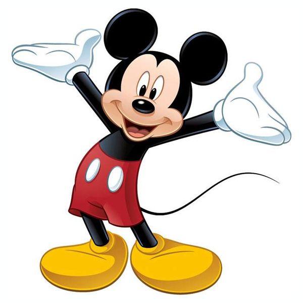 Roommates Roommates muursticker Mickey Mouse XL