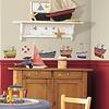 Roommates muursticker boten