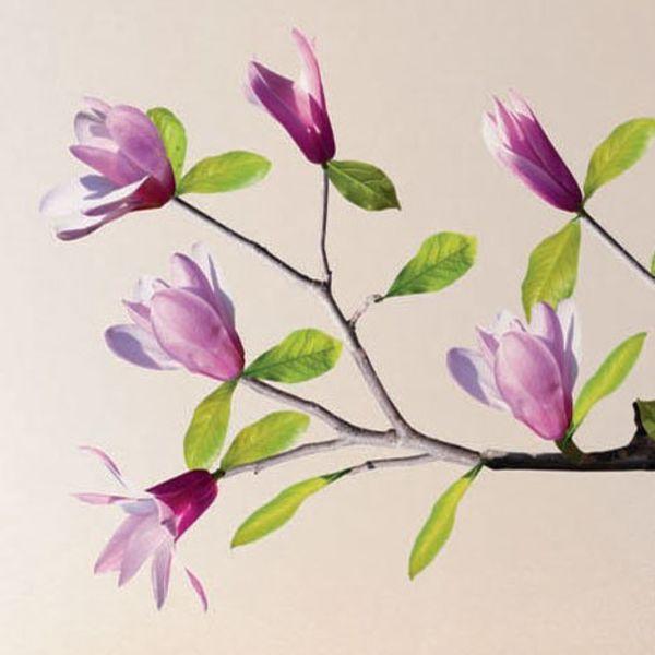 Nouvelles Images Nouvelles Images muursticker magnolia