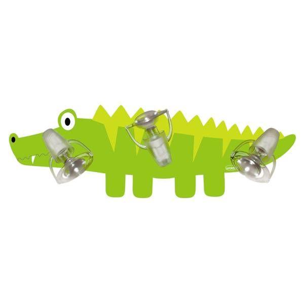 Waldi-Leuchten Plafonniere krokodil