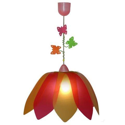 Kinderlamp bloem met vlinders