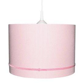 Waldi-Leuchten Kinderlamp roze strepen