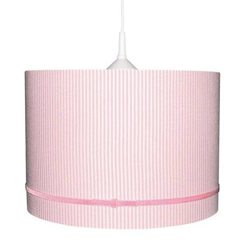Kinderlamp roze strepen