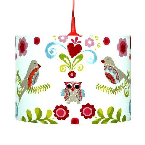 Kinderlamp paradijsvogel