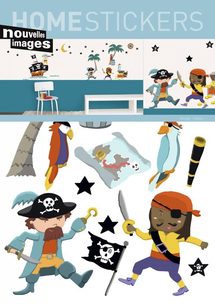 nouvelles images nouvelles images muurstickers piraten kidzsupplies. Black Bedroom Furniture Sets. Home Design Ideas