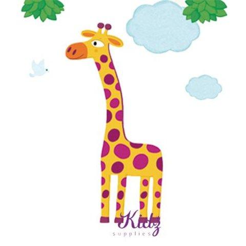 Nouvelles Images muursticker giraffe XXL