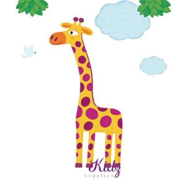 Nouvelles Images Nouvelles Images muursticker giraffe XXL