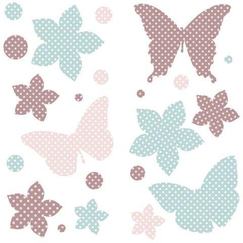 Kidslab muursticker vlinders
