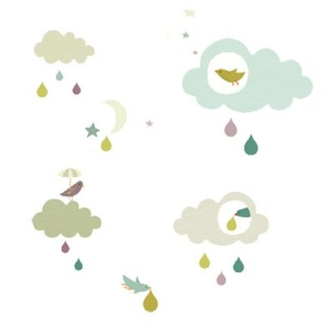 Nouvelles Images muursticker wolken